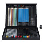 Magicfly Kit de Crayons 60 Pièces Crayons Graphite Crayons Couleur Crayons Fusains pour Croquis, Esquisse et Dessin de la marque Magicfly image 2 produit
