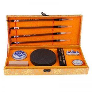 MagiDeal Ensemble D'outils De Calligraphie écriture Brosses Stylo D'encre Boîte Cadeau de la marque MagiDeal image 0 produit
