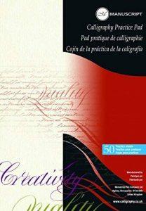 Manuscript Bloc-notes papier entraînement calligraphie A4 de la marque Manuscript image 0 produit