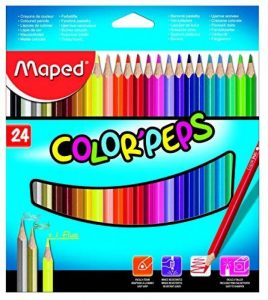 Maped 183224 crayon de couleurs de la marque Maped image 0 produit