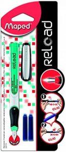 """Maped stylo plume Reload """"garcon"""" - Coloris aléatoire de la marque Maped image 0 produit"""