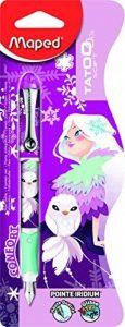 Maped Tatoo Child 220027 Stylo-plume décor Princesse de la marque Maped image 0 produit