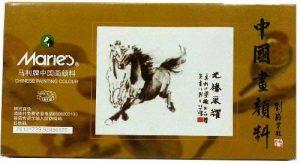 Marie de peinture chinoise 24Couleur Lot (grande) de la marque Marie's image 0 produit