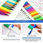 Marker stylos, Chuangmeida 60 couleurs crayons aquarelle Art Brush Stylos Set crayons crayons Surligneurs avec Dual Tip pour manga comic dessin, peinture, écriture, livres à colorier Bullet Journal Art Projects de la marque Chuangmeida image 1 produit