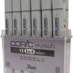 marqueur copic sketch TOP 6 image 2 produit