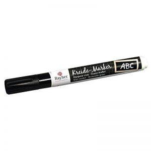 Marqueur craie (verre et tableau) - Noir - Rayher de la marque Rayher image 0 produit