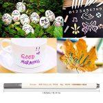 Marqueur Métallique Pens, Rymall [12 Couleurs] Utilisation sur Papier Verre Plastique Poterie Bois Roche Métal, pour Album Photo Carte DIY Graffiti , Dessin de la marque Rymall image 5 produit