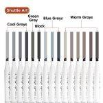 marqueur permanent gris TOP 10 image 3 produit