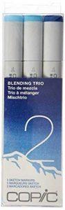 Marqueurs Copic Sketch marqueurs Trio de mixage, SBT 2, 3-pack de la marque COPIC image 0 produit