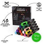Marqueurs à craie liquide et couleurs métalliques–Boîte de 21–Marqueur à craie pour tableaux de de la marque Chalkola image 3 produit