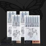 Mengma Fineliner Pen différents Ligne Taille Combinaison Noir d'encre Sketch Pen Micro étanche Pigment liner Dessin stylos pour esquisse Dessin Rédigez des documents Comic Manga Scrapbooking Noir de la marque Mengma image 5 produit