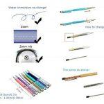 mengran® 7 cm Recharges pour stylo bille pour tous les stylos à bille de mengran. pointu cristal diamant Recharges pour stylos d'encre noir, Lot de 10 de la marque MengRan image 1 produit