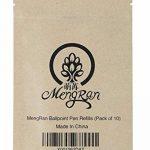 Mengran 7cm Stylo à bille Recharges pour Stylo Swarovski et autre Marque Cristal de diamant stylet stylos (convient pour tous les Mengran de stylos à bille) (10pcs Noir d'encre) de la marque MengRan image 2 produit