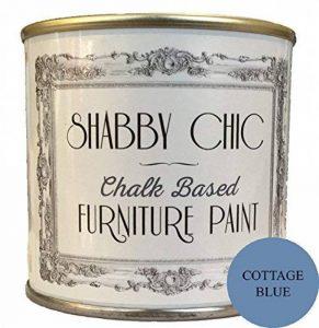 Meubles couleur craie, bleu, sur base, pour un style shabby chic, 250ml de la marque Shabby Chic Furniture Paint image 0 produit