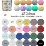 Meubles couleur craie, bleu, sur base, pour un style shabby chic, 250ml de la marque Shabby Chic Furniture Paint image 2 produit