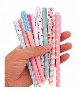 MFEIR® Set de 10pcs différentes couleurs Gel crayons Pastel Stylos bricolage pour l'écriture de dessin de la marque MFEIR image 0 produit