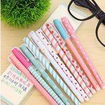 MFEIR® Set de 10pcs différentes couleurs Gel crayons Pastel Stylos bricolage pour l'écriture de dessin de la marque MFEIR image 2 produit