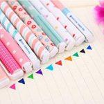 MFEIR® Set de 10pcs différentes couleurs Gel crayons Pastel Stylos bricolage pour l'écriture de dessin de la marque MFEIR image 3 produit