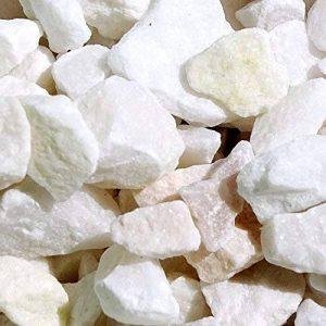 MGS SHOP® Gravier de marbre Décoratif–Couleur au Choix Weiß-Pastell 950g de la marque MGS SHOP® image 0 produit