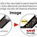 Mines de Plomb Nano Dia 0,3mm HB pour Porte-Mine UNI Uni-Ball Mitsubishi - Pack de 3x15 Mines soit 45 Mines de la marque Mitsubishi image 2 produit