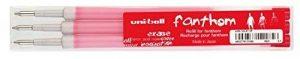 MITSUBISHI 144621Cartouche de recharge–Uni-ball Fanthom, effaçable 0,4mm, rouge de la marque Mitsubishi image 0 produit