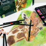 MONT MARTE Kit premium de crayons de couleur pour artistes débutants et professionnels – 36 pce dans une élégante boite en métal – idéals pour des dessins et peintures vives et colorées. de la marque MONT MARTE image 5 produit