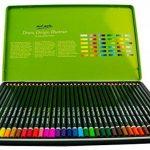 MONT MARTE Kit premium de crayons de couleur pour artistes débutants et professionnels – 36 pce dans une élégante boite en métal – idéals pour des dessins et peintures vives et colorées. de la marque MONT MARTE image 2 produit