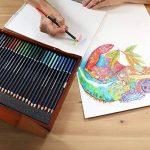 MONT MARTE Set de Crayons de Couleur Premium Deluxe - 72 pièces de crayons de couleur dans une boîte en bois - Idéal pour les dessins colorés - Parfait comme cadeau pour les Débutants, Professionnels de la marque Mont Marte image 4 produit