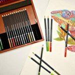 MONT MARTE Set de Crayons de Couleur Premium Deluxe - 72 pièces de crayons de couleur dans une boîte en bois - Idéal pour les dessins colorés - Parfait comme cadeau pour les Débutants, Professionnels de la marque Mont Marte image 1 produit