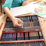 MONT MARTE Set de Crayons de Couleur Premium Deluxe - 72 pièces de crayons de couleur dans une boîte en bois - Idéal pour les dessins colorés - Parfait comme cadeau pour les Débutants, Professionnels de la marque Mont Marte image 2 produit