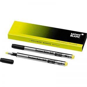 Montblanc 105169 Recharge pour Surligneur Montblanc - 2x Luminous Yellow - Jaune Lumineux de la marque Montblanc image 0 produit