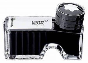 Montblanc 107755 Flacon d'encre Black Permanent - Encre pour Stylo Plume - Noir Permanent - 60 ml de la marque Montblanc image 0 produit