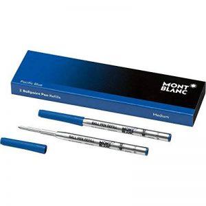 Montblanc 116213 Recharge pour Stylo Bille Montblanc - 2x Pacific Blue - Bleu - M - Taille Medium de la marque Montblanc image 0 produit