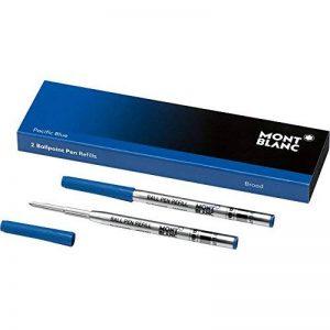 Montblanc 116214 Recharge pour Stylo Bille Montblanc - 2x Pacific Blue - Bleu - B - Taille Large de la marque Montblanc image 0 produit