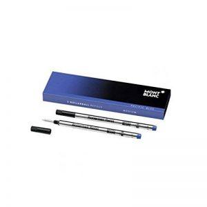 Montblanc 2 recharges pour rollerball (M) Pacific Blue de la marque Montblanc image 0 produit