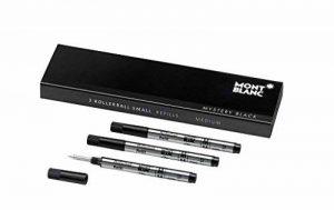 Montblanc 3 recharges pour rollerball petit modèle (M) Mystery Black de la marque Montblanc image 0 produit