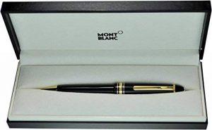 Montblanc Meisterstuck le grand 161Doré et stylo à bille Noir–Menthe Only One de bonne qualité de luxe Pen Meilleur Cadeau de la marque Montblanc image 0 produit