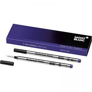 Montblanc tintenmine, M 2x 1, améthyste violet (106931) violett de la marque Montblanc image 0 produit