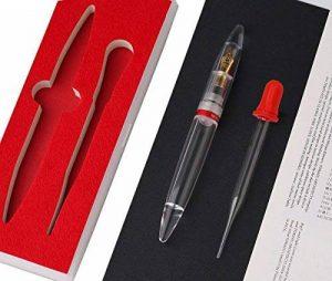 Moonman M2Stylo à plume dans un coffret cadeau, Transparenteye Dropper stylos de calligraphie, Executive Business Pen, pointe fine 0,5mm Dessin écrire pour homme femme de la marque Asvine image 0 produit