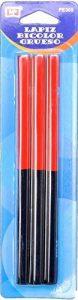 MP PE305 Lot de 3crayons bicolores à pointe épaisse de la marque MP image 0 produit