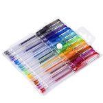 Mudder Lot de stylos gel paillettes pour coloriage livre, concevoir, colorier, scarabocchiare et abbozzare, de la marque Mudder image 4 produit