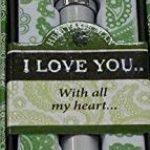 Mulberry Sterling Effectz Stylo personnalisé avec l'inscription «I love you» livré dans une boîte cadeau [en langue étrangère] de la marque Mulberry image 1 produit