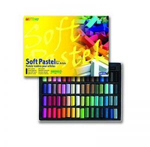 Mungyo Soft Pastel 64 Set De Couleurs Craie Carrée de la marque Mungyo image 0 produit