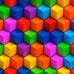 murando – Papier peint intissé 3D Optique 200x140 cm – Trompe l oeil - Tableaux muraux – Déco – XXL - Jaune Vert Bleu Orange Rouge Violet a-B-0077-a-a de la marque murando image 2 produit