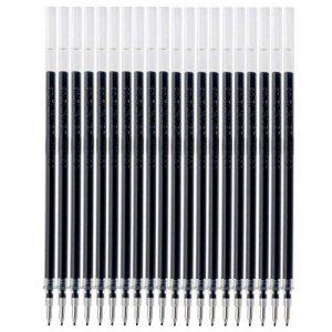 MyLifeUNIT Stylo à encre gel Recharges pour Rolling Ball Pens, Extra Fine Point, 0,5mm, encre noire, Lot de 20 de la marque MyLifeUNIT image 0 produit