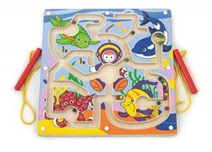 New Classic Toys Viga Toys - 50123 - Jeu De Société - Labyrinthe - Fonds Marin de la marque New Classic Toys image 0 produit