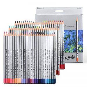 Newdoer 72Ensemble de crayons Art Dessin Coloriage, en boîte, ces Crayons de Couleur sont les Meilleurs pour Livres de Coloriage pour Adultes, Ecole, Art, Artistes, Esquisse, Ecriture, Secret Garden (72Couleurs) de la marque Newdoer image 0 produit