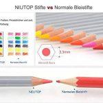 NIUTOP 72couleurs Crayons de couleur Crayons de couleur pour petit et grand pour peindre, colorier, esquisser ou colorieren cadeau parfait pour Hobby Artistes et enfants de la marque Niutop image 1 produit