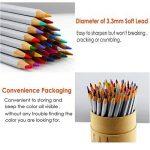 NIUTOP 72couleurs Crayons de couleur Crayons de couleur pour petit et grand pour peindre, colorier, esquisser ou colorieren cadeau parfait pour Hobby Artistes et enfants de la marque Niutop image 3 produit