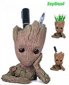 Nouveau - Pot à fleurs ou à stylos en forme de personnage de dessin animé Baby Groot, excellent cadeau pour enfant - IzyDeal® de la marque IzyDeal image 0 produit